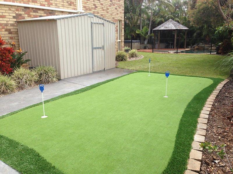Artificial Backyard Putting Green putting green in a backyard photos - turf green