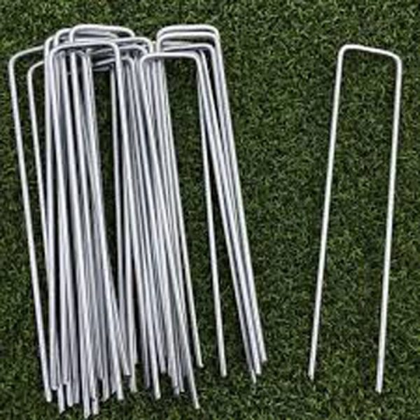 Galvanised U Pins x 150mm Long - Buy Online - Turf Green